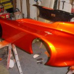 Copperhead Go Kart painted with our Gold IGhost Pearls ®®