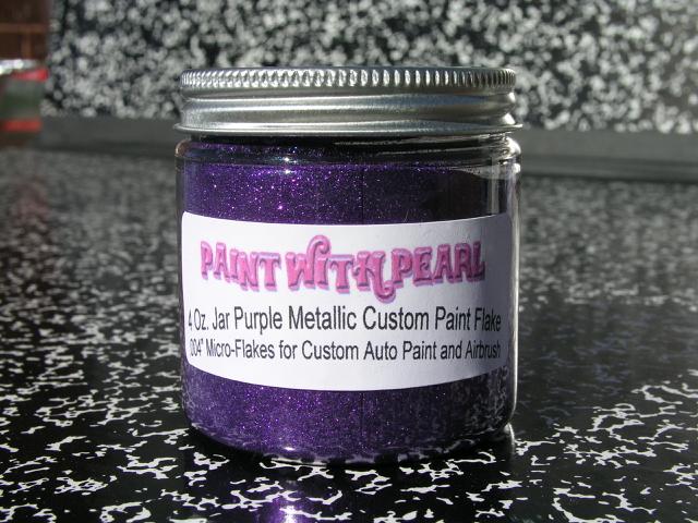Purple Metal Flake   Chameleon Pearls