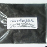 25 Gram Bag Gunmetal Black Candy Pearls ® ®.