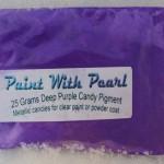 25 gram Bag of Deep Purple Candy Pearls ®