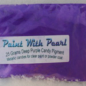 25 gram Bag of Deep Purple Candy Pearls ®