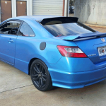 Electric Blue Civic By Dipp Your Whipp.