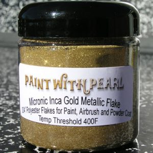 Inca Gold Metal Flake - Gold Flake Paint Jobs