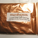 25 Gram Bag Orange Copper Candy Pearls ®