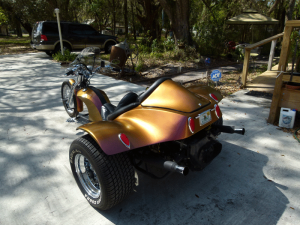 Chameleon Pearls Job on a Trike with our 4739OR.