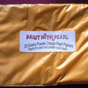 25 Gram Bag of Bright Orange Candy Pearls ®