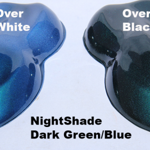 Green-Blue Candy Paint Pearl Night Shade
