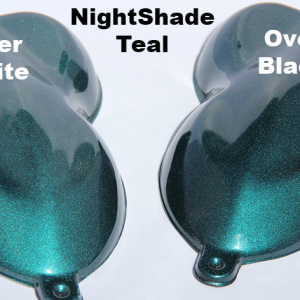 Teal Candy Paint Pearl Night Shade
