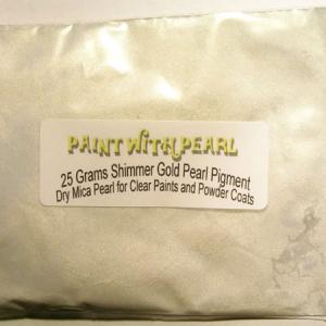 25 gram bag of Gold Shimmer Ghost Pearl