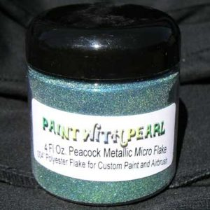 Peacock Metal Flake