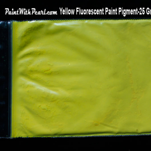Yellow Neon Glow Paint Pigment
