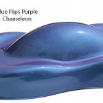 Blue Purple Flip Paint Chameleon Pearls flip two colors and cost less.