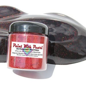 Red Holographic Metal Flake