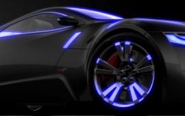 Glow Pigment example on Audi