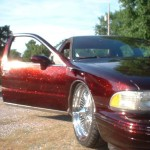Customer Painted a Caprice with Fire Red and Happy with results.