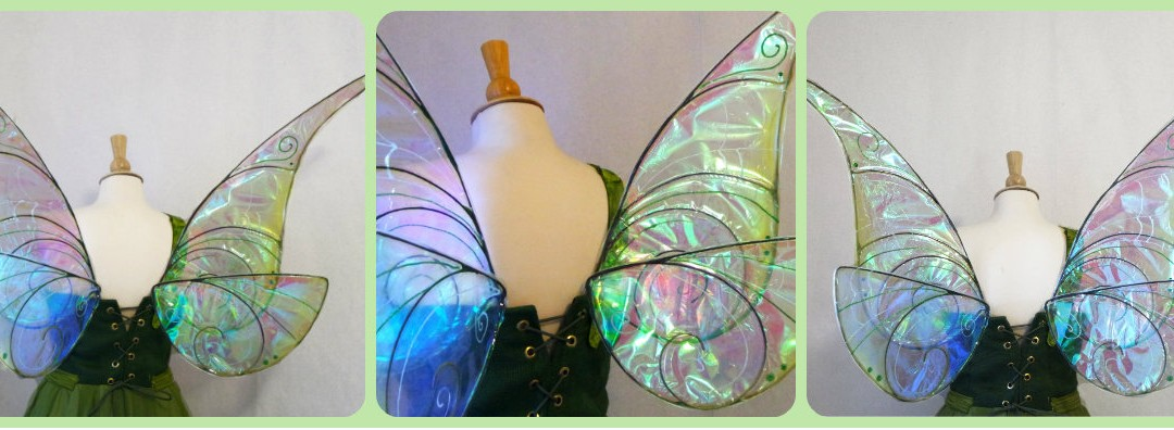 bronze and gold pearl on fairy costume