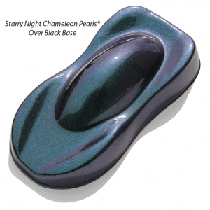 Starry Night Teal Blue Purple Chameleon Pearls 4739TBP