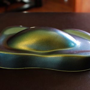Side of 4739IO Chameleon Pearls