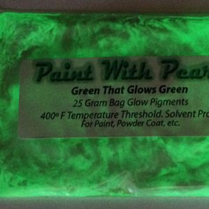 Green to Green Glow in the Dark Pigments - Long Lasting