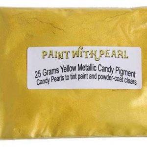Yellow Metallic Paint Candy Pearls ®
